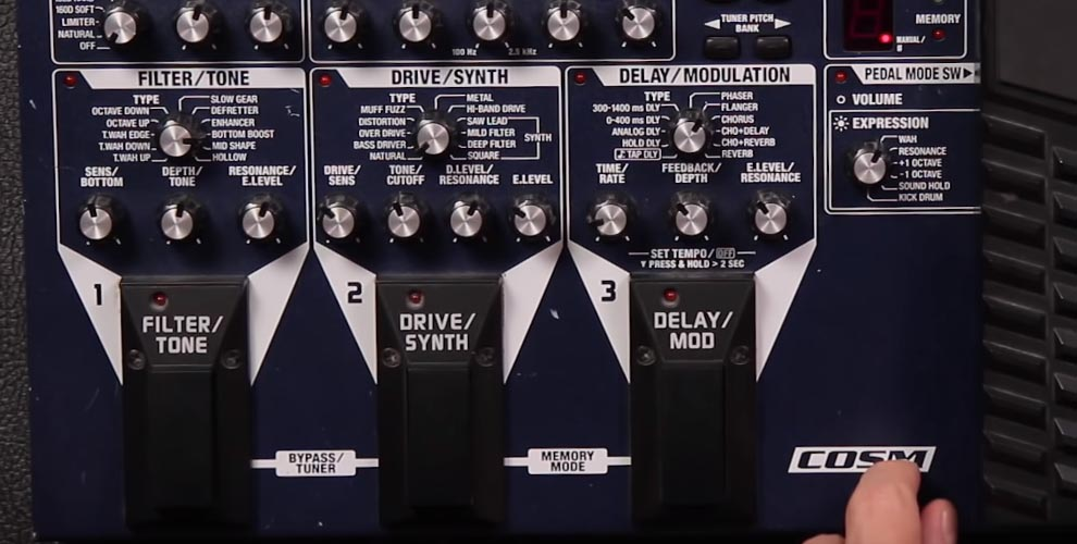 Boss ME-50B Bass Multi-Effects Pedal Review