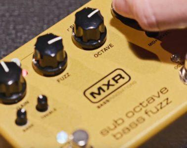 MXR M287 Sub Octave Bass Fuzz Review
