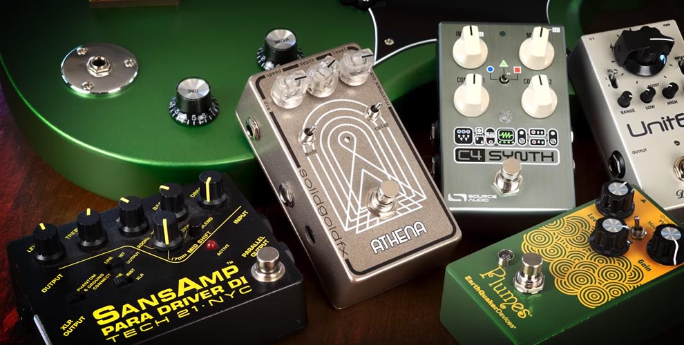 Recommended Bass Pedals for Grunge, Metal & Funk