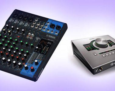 Audio Interface vs. Mixer