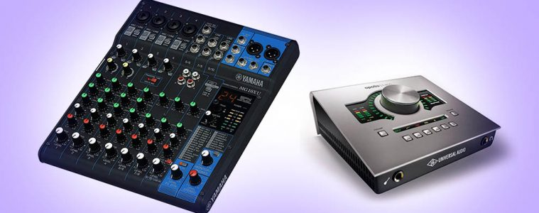 Audio Interface vs. Mixer