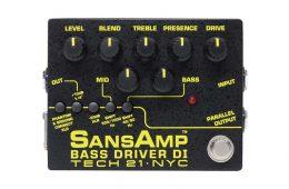 Tech 21 SansAmp Bass Driver DI BSDR-V2 Review