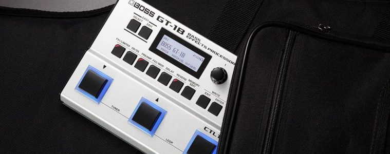 Boss GT-1B - The ultimate battery-powered tone machine