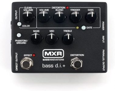 MXR M80 Bass D.I.+ - The bass players Swiss army knife