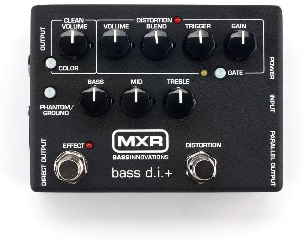 MXR M80 Bass D.I.+ - The bass players Swiss army knife