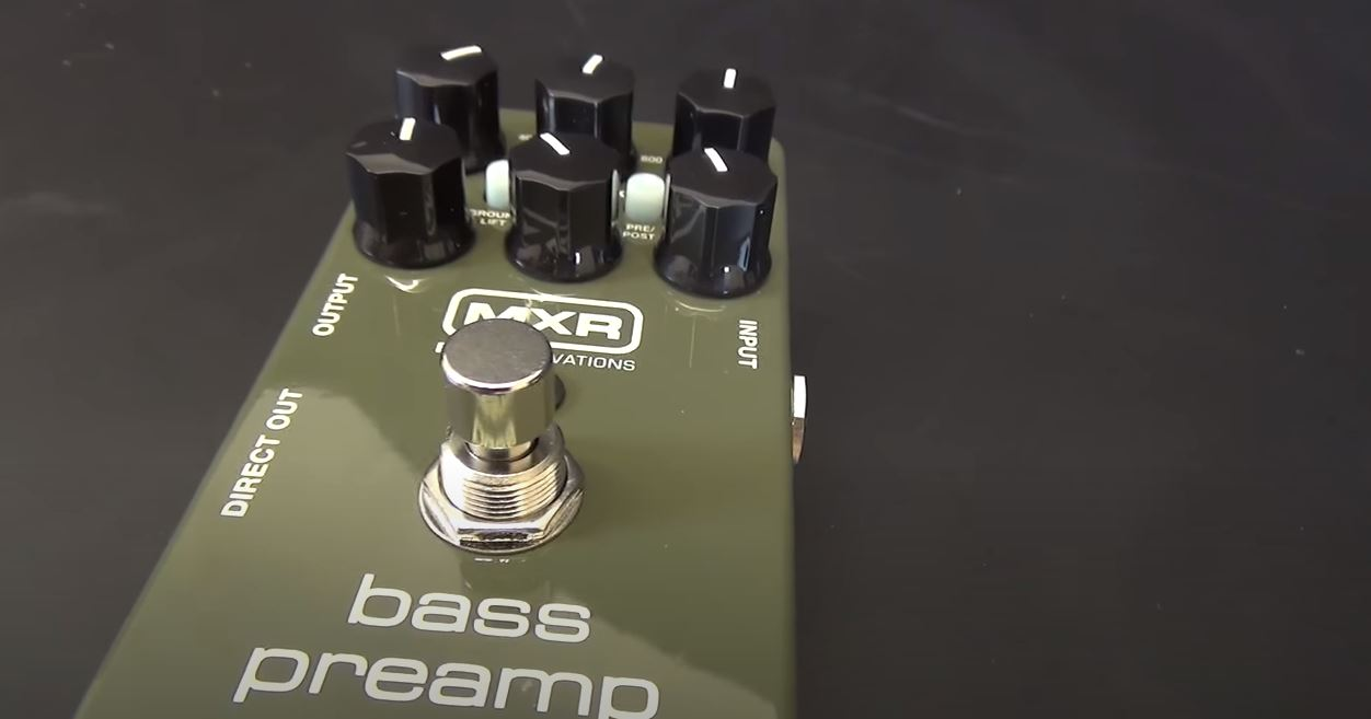 MXR M81 Bass Preamp Review - Can it make your bass sound better