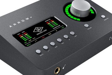 Universal Audio Arrow Thunderbolt 3 Audio Interface (1)