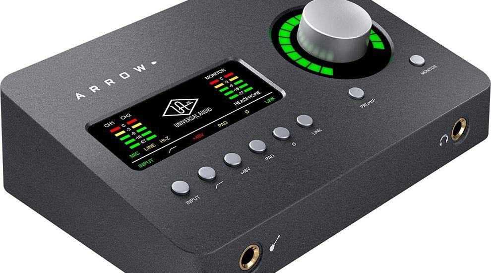 Universal Audio Arrow Thunderbolt 3 Audio Interface (1)