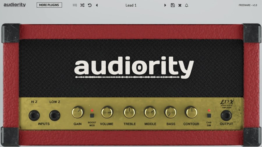 Audiority-L12X-Guitar Amp VST