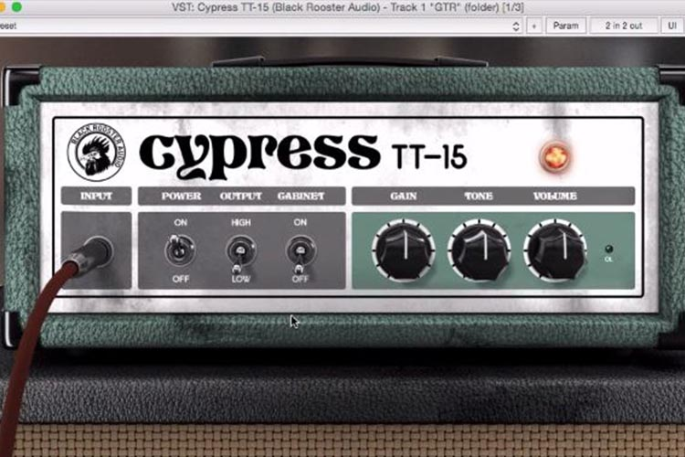 Cypress TT-15 Guitar Amp Plugin