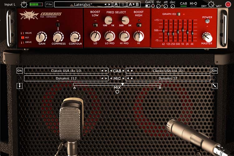 Cerberus Bass Amplifikation Amp Plugin by Kuassa