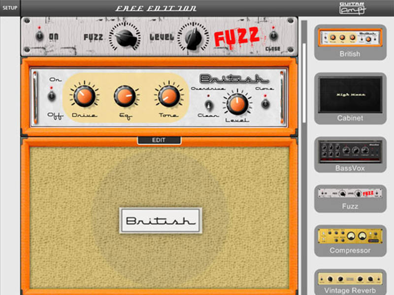Guitar Amp 2 Free Edition vst guitar amp