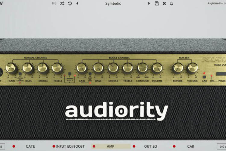 Solidus VS8100 Amp Plugin by Audiority