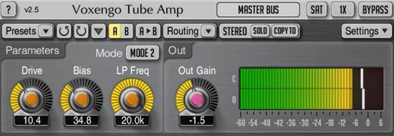 Voxengo Tube Amp Amp Simulator by Voxengo